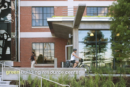 Green building resource center