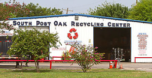 post oak recycling center