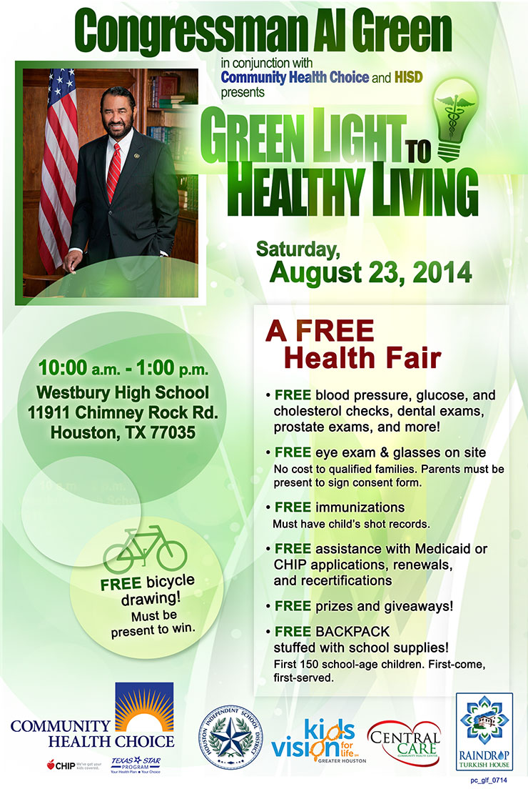 Al Green Health Fair 2014