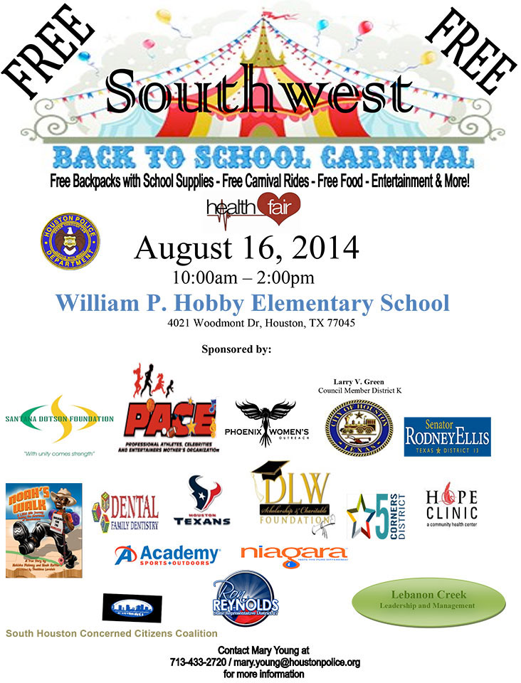 SW Back to School Carnival