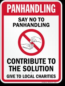 no-panhandling