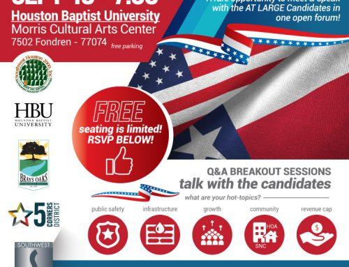 Bi-Monthly Continental Breakfast: Meet & Greet the Candidates, Sept. 10