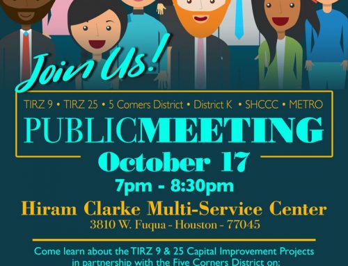 Join us: Public Meeting, Oct 17