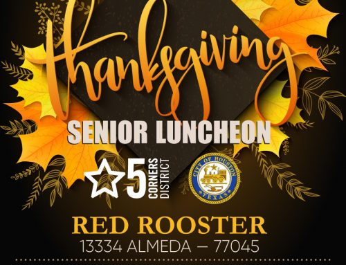 District K Senior Thanksgiving Luncheon, Nov. 21