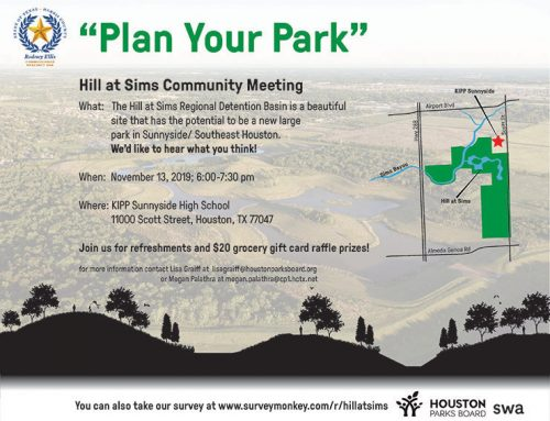 Hill at Sims – Information and Invitation