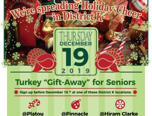 Turkey Gift-Away for Seniors, Dec. 19