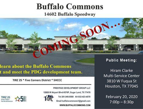 Buffalo Commons: Public Meeting, Feb. 20