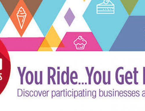 You Ride… You Get Rewarded