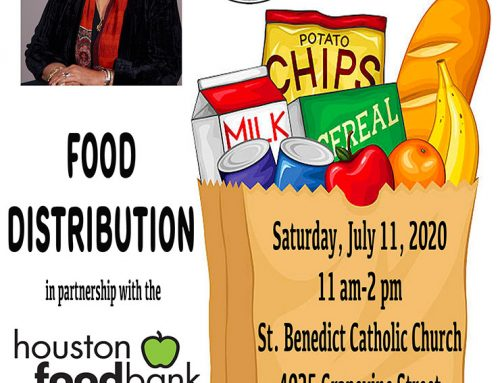 State Representative Dr. Alma Allen Food Distribution, July 11