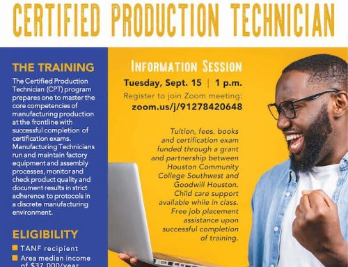 HCC: Get Free Training to Become a Certified Production Technician