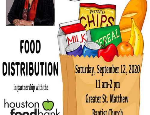 State Representative Dr. Alma A. Allen: Food Distribution, Sept. 12