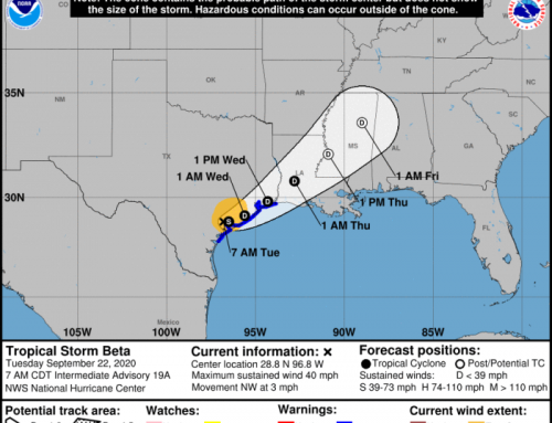 ReadyHarris: Tropical Storm Beta Update (Tuesday, 8:30 a.m.)