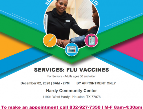 Free Immunization Event. Dec. 2-3