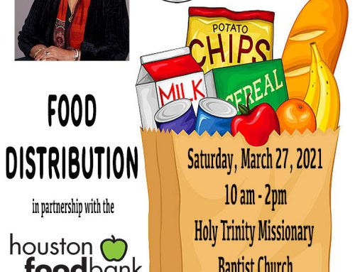 State Rep. Dr. Alma A. Allen: Food Distribution, March 27