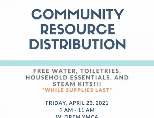 Community Resource Distribution, April 23
