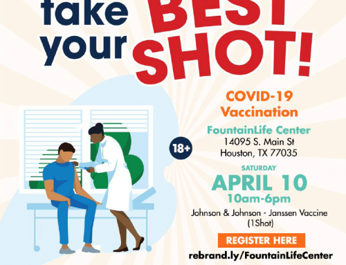 Take Your Best Shot! COVID-19 Vaccination, April 10