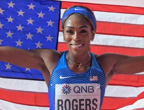Olympic medalist Raevyn Rogers' run-up to glory started in 5 Corners